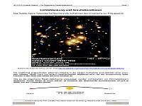 Cover: Lichtablenkung und Gravitationslinsen