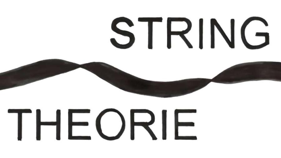 Cover: Die Stringtheorie - Unser 10 dimensionales Universum