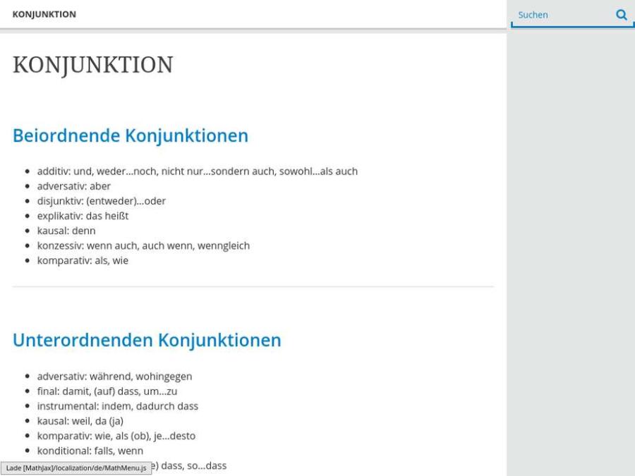 Cover: KONJUNKTION