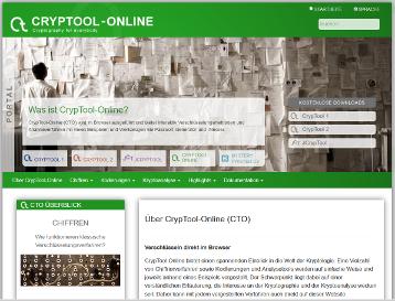 Cover: CrypTool.org Portal