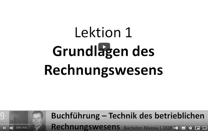 Cover: Grundlagen Rechnungswesen -  YouTube