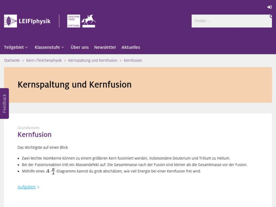 Cover: Kernfusion