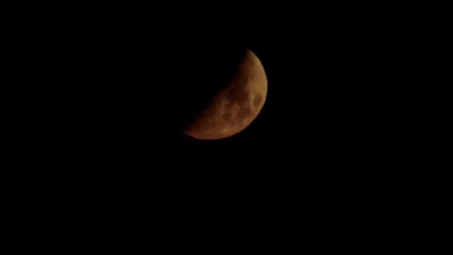 Cover: Mond am Horizont - Moon at Horizon