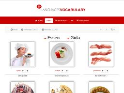 Cover: Türkisch - Essen • Lerne KOSTENLOS den Wortschatz mit Hilfe deiner Muttersprache - mit 50LANGUAGES