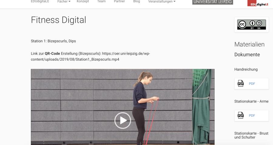 Cover: Fitness Digital