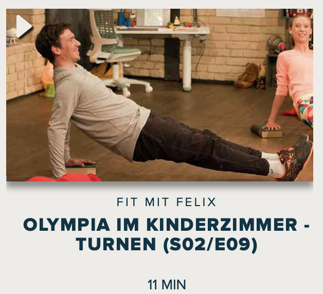 Cover: Fit mit Felix : Olympia im Kinderzimmer - Turnen (S02/E09)