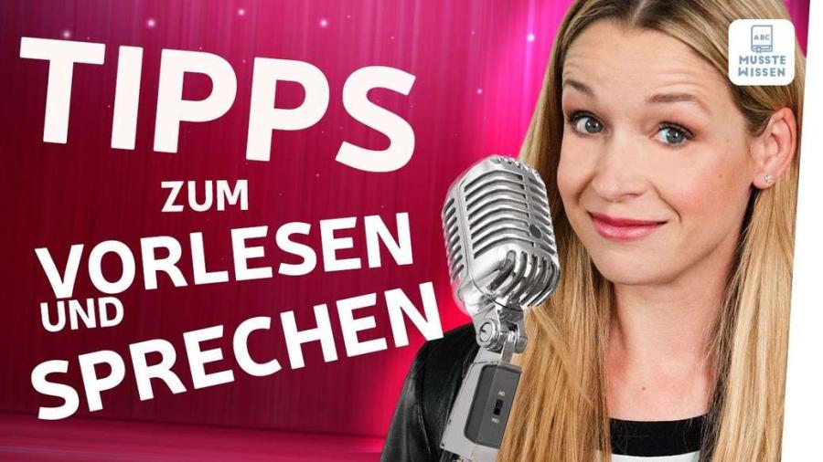 Cover: Deutlich sprechen I Tipps und Übungen I Deutsch