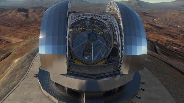 Cover: European Extremely Large Telescope (E-ELT)