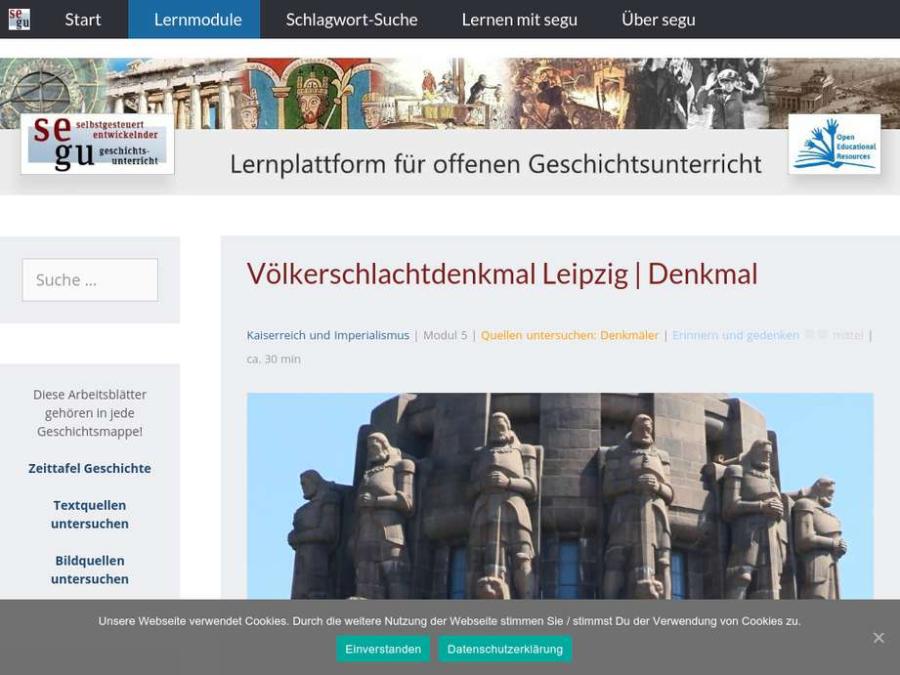 Cover: Völkerschlachtdenkmal Leipzig   Denkmal