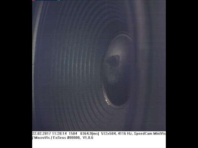 Cover: Highspeed-Aufnahme Lautsprecherbox