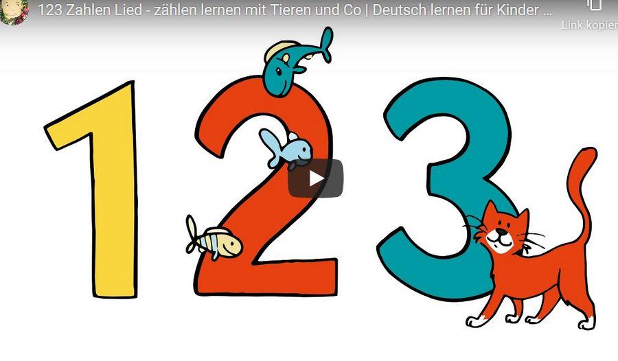 Cover: 123 Zahlen-Lied   Deutsch lernen für Kinder