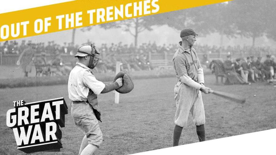 Cover: Baseball während des 1. Weltkrieges