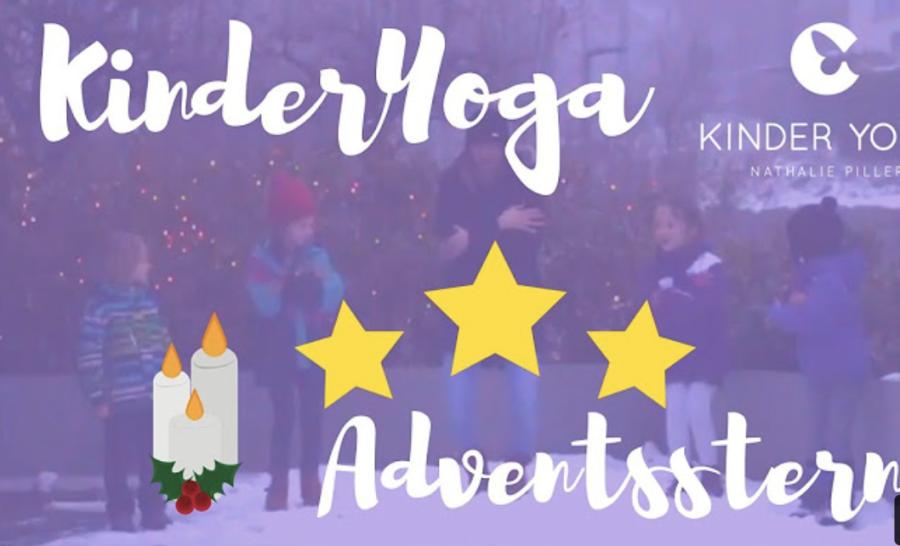Cover: KinderYoga - Adventsstern