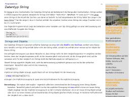Cover: Datentyp String