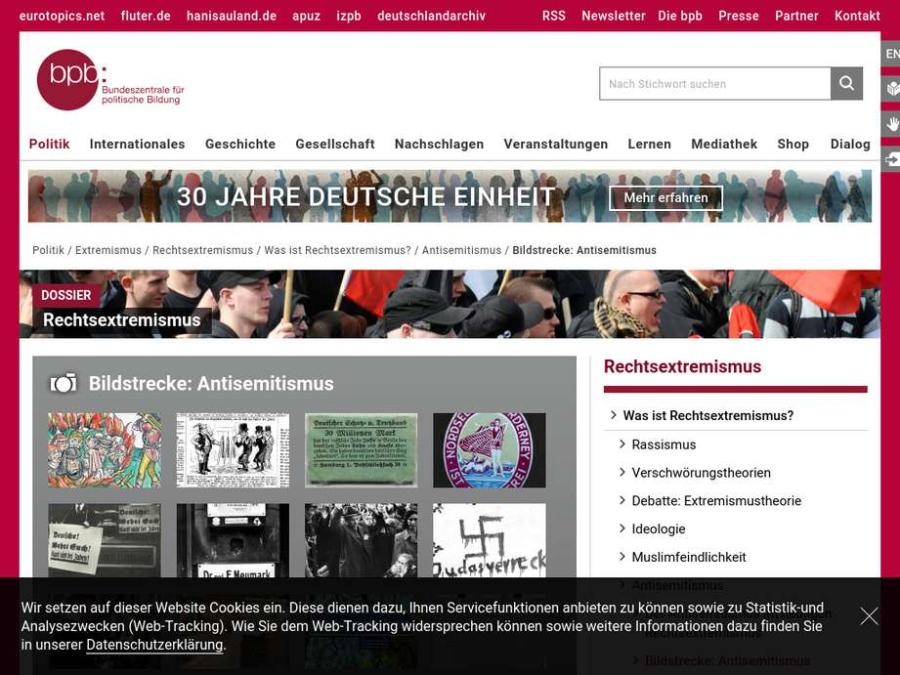 Cover: Bildstrecke Antisemitismus