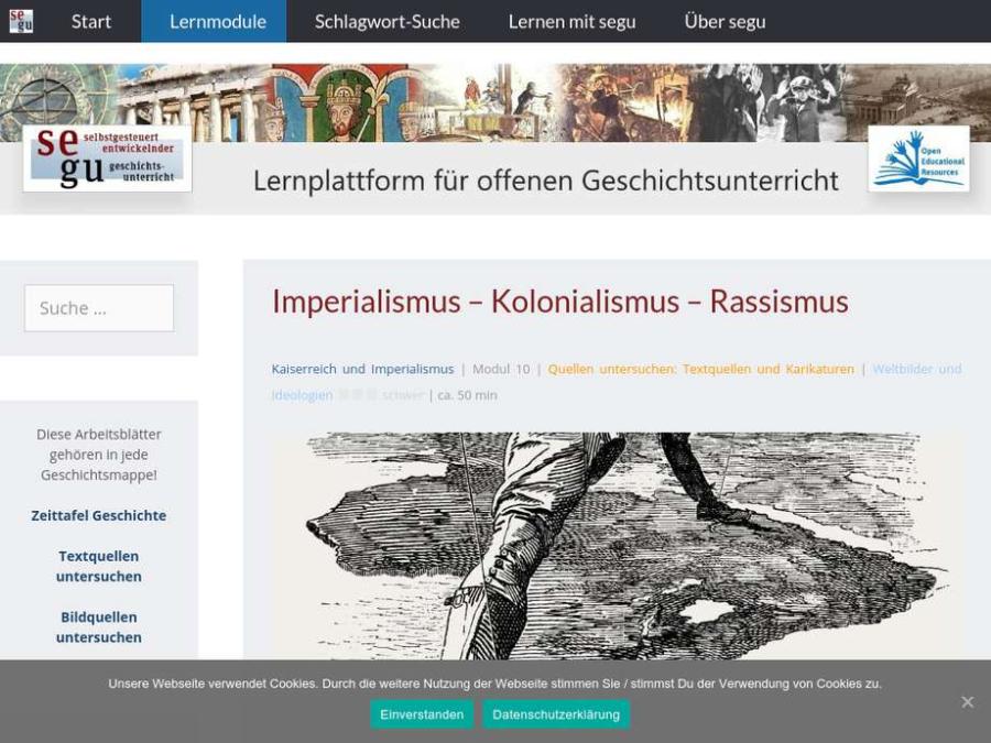 Cover: Imperialismus - Kolonialismus - Rassismus