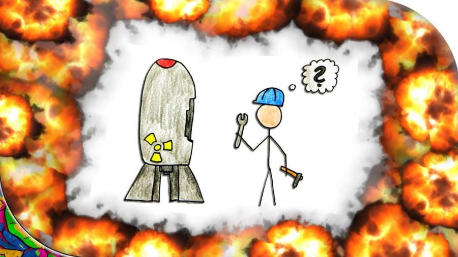 Cover: Wie baut man eine Atombombe?