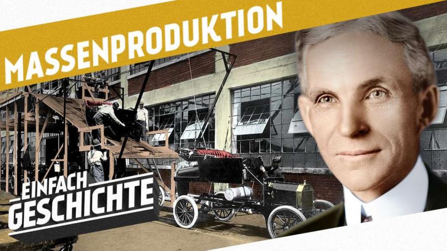 Cover: Massenproduktion und der Weg zum 1. Weltkrieg I DIE INDUSTRIELLE REVOLUTION