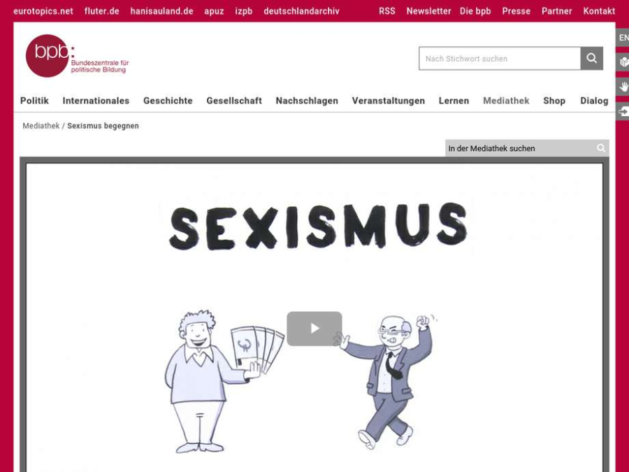 Cover: Sexismus begegnen