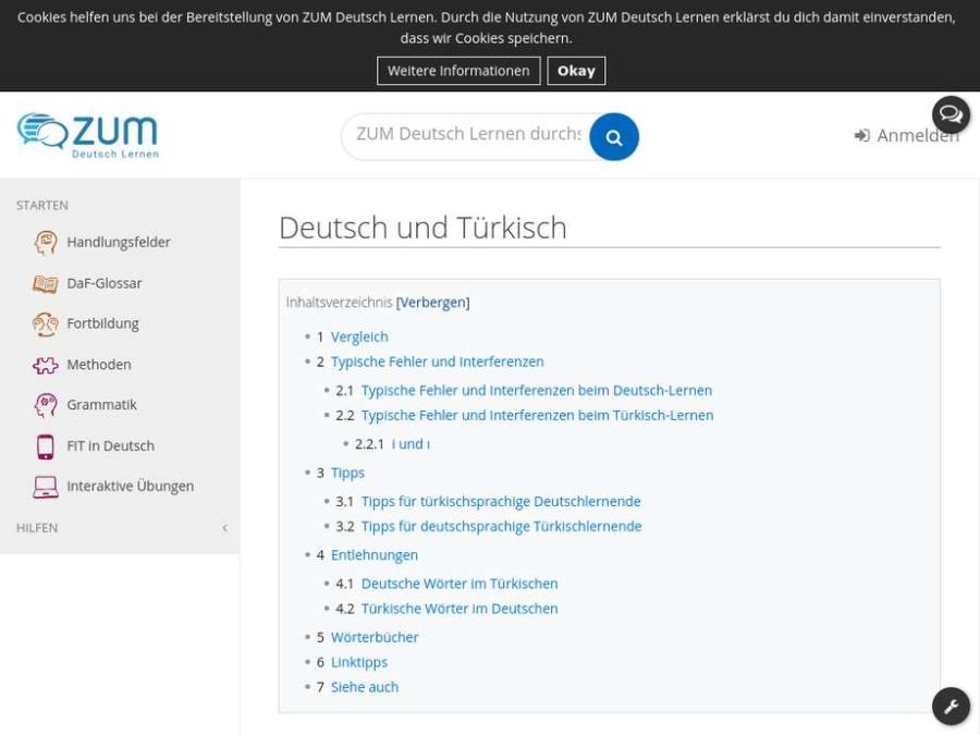 Cover: Deutsch und Türkisch