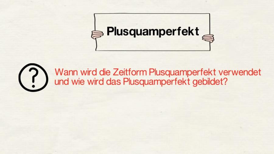 Cover: Das Plusquamperfekt