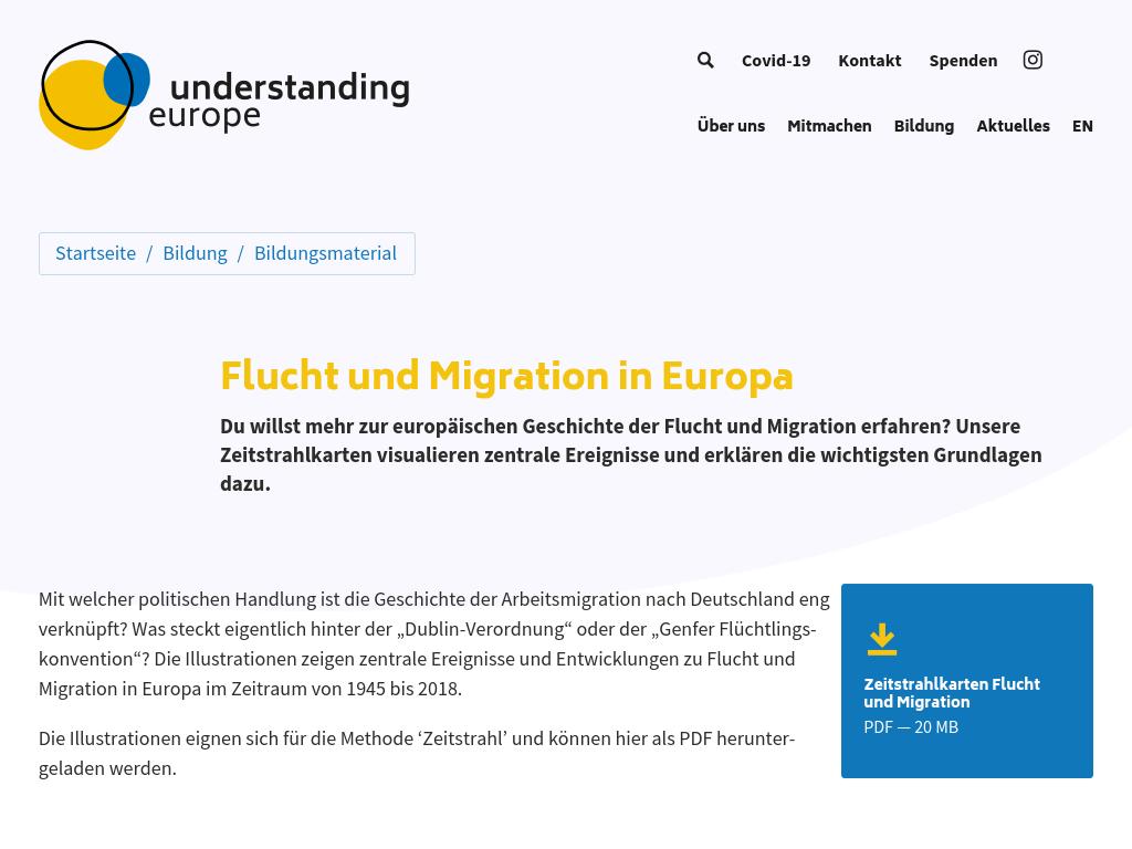Cover: Flucht und Migration in Europa