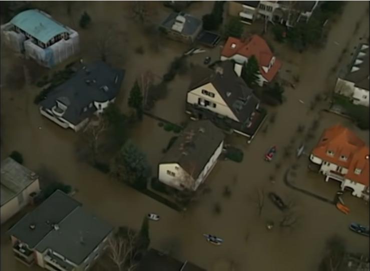 Cover: Wie entsteht Hochwasser und was kann man dagegen tun?