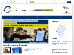 Cover: Netzwerk Teilchenwelt