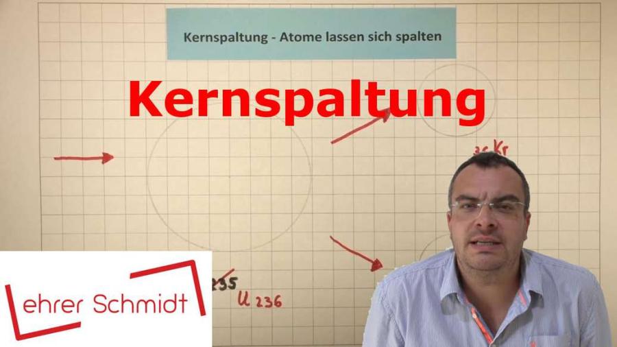 Cover: Kernspaltung - Atome lassen sich spalten | Physik - Atomphysik | Lehrerschmidt