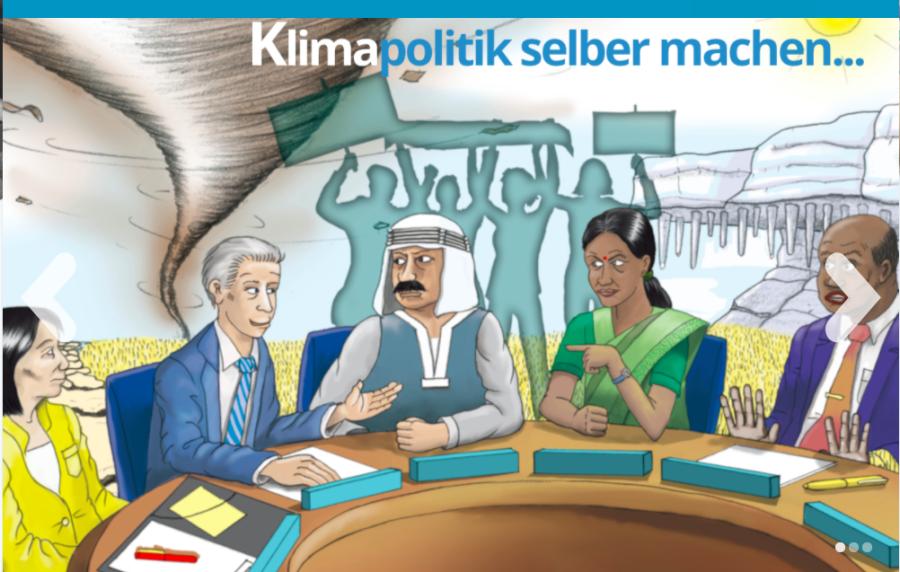 Cover: Keep Cool Online - das Planspiel zum Klimawandel