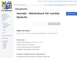 Cover: Hurraki - Wörterbuch für Leichte Sprache