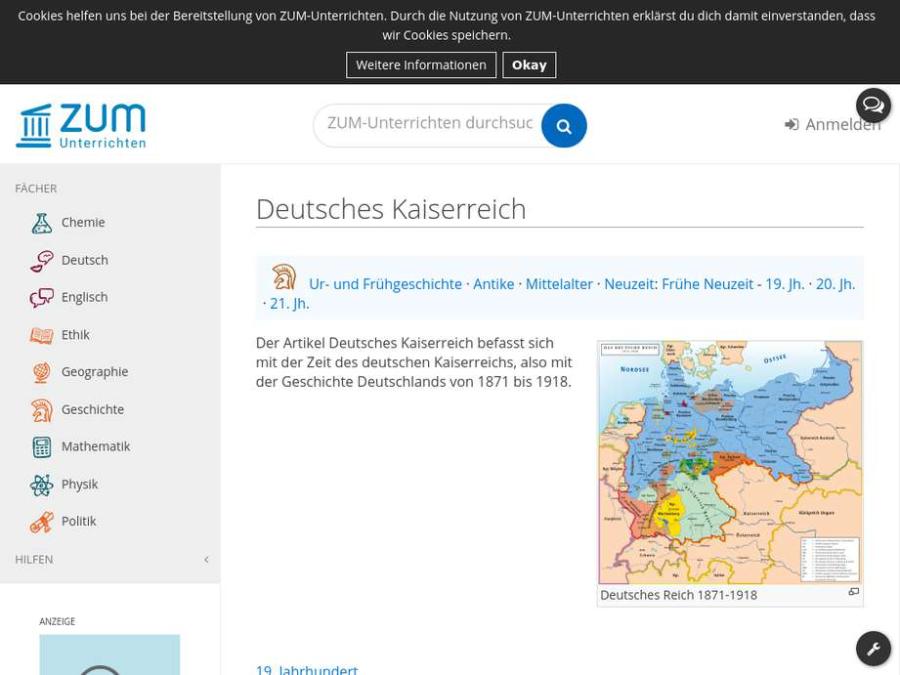 Cover: Deutsches Kaiserreich
