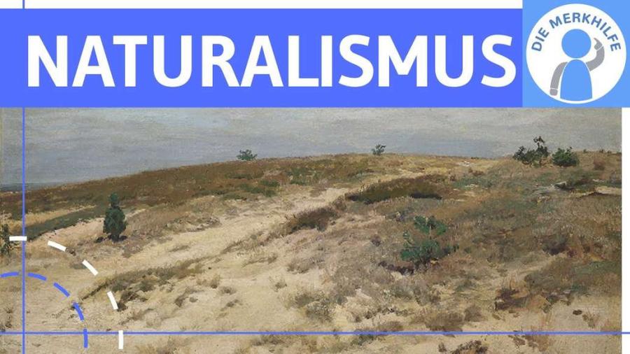 Cover: Naturalismus - Literaturepoche einfach erklärt - Merkmale, Literatur, Geschichte, Vertreter