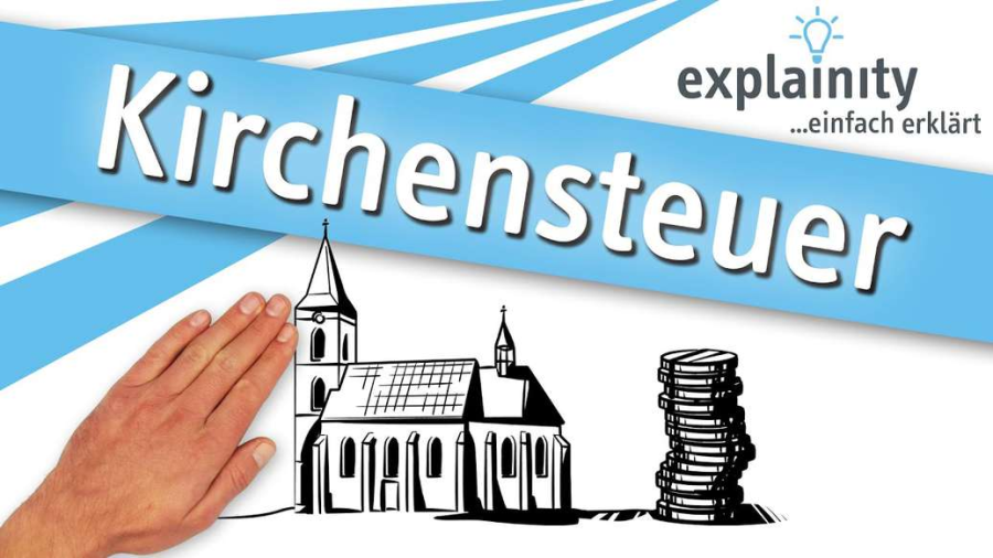Cover: Kirchensteuer einfach erklärt (explainity® Erklärvideo)