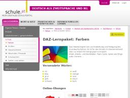 Cover: DAZ-Lernpaket | Farben