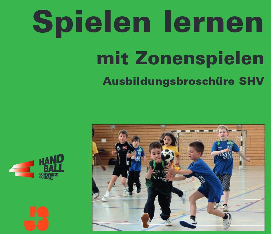 Cover: Handball spielen lernen mit Zonenspiel