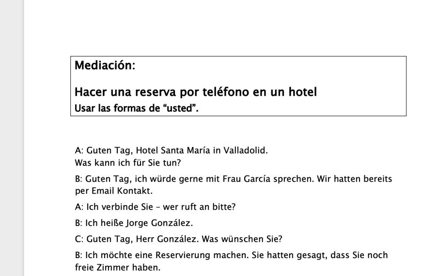 Cover: Reservar un hotel | Übung