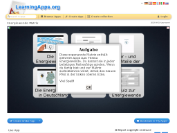 Cover: Energiewende - LearningApps