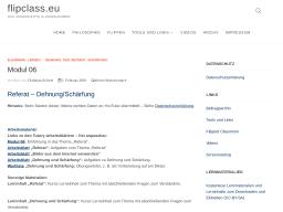 Cover: Referat - Dehnung/Schärfung