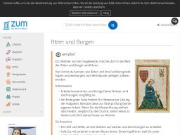 Cover: Ritter und Burgen – ZUM-Unterrichten