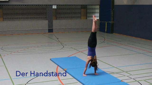 Cover: Handstand-Abrollen