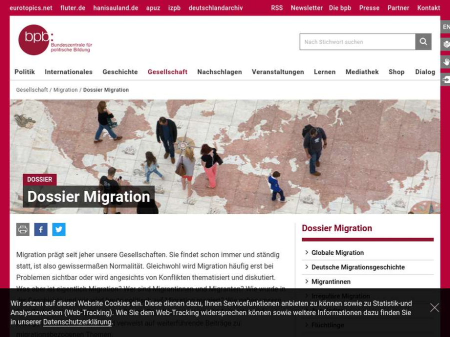 Cover: Dossier Migration