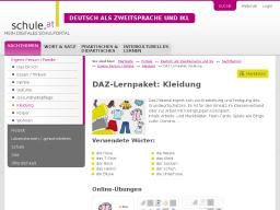 Cover: DAZ-Lernpaket   Kleidung