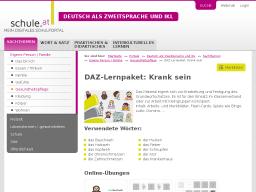 Cover: DAZ-Lernpaket   Krank sein
