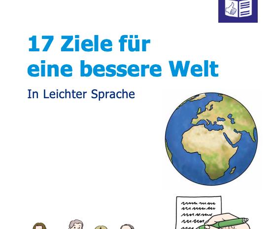 Cover: Die 17 Nachhaltigkeitsziele in einfacher Sprache