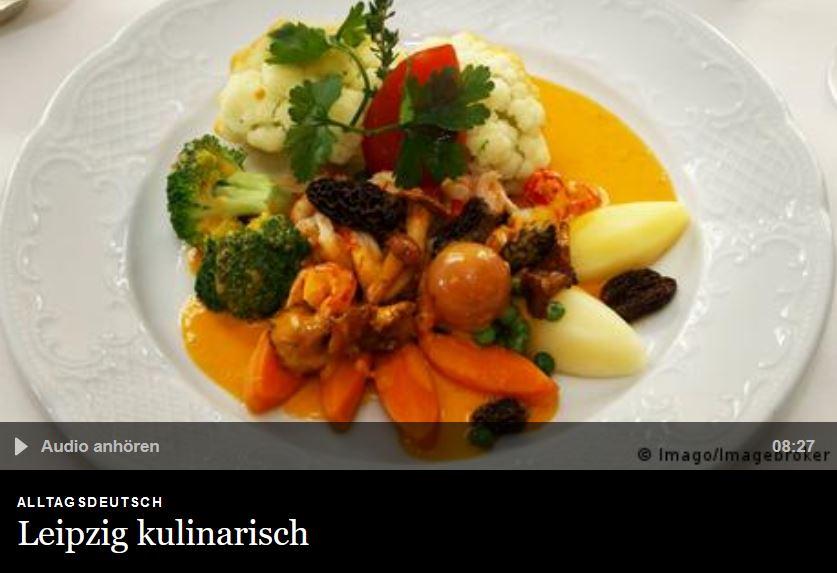 Cover: Leipzig kulinarisch   Alltagsdeutsch