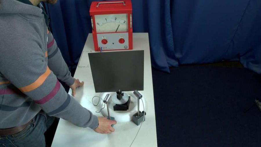 Cover: Reflexion von Ultraschallwellen -Experiment
