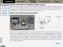 Cover: Virtuelle Elektronenbeugungsröhre