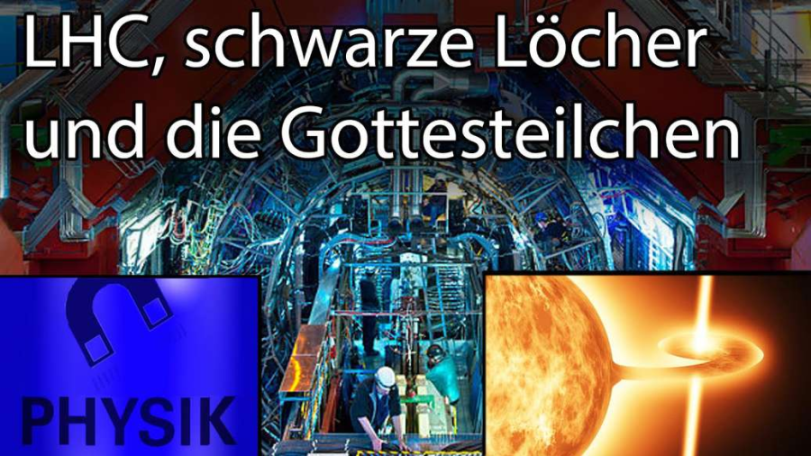 Cover: LHC, schwarze Löcher und die
