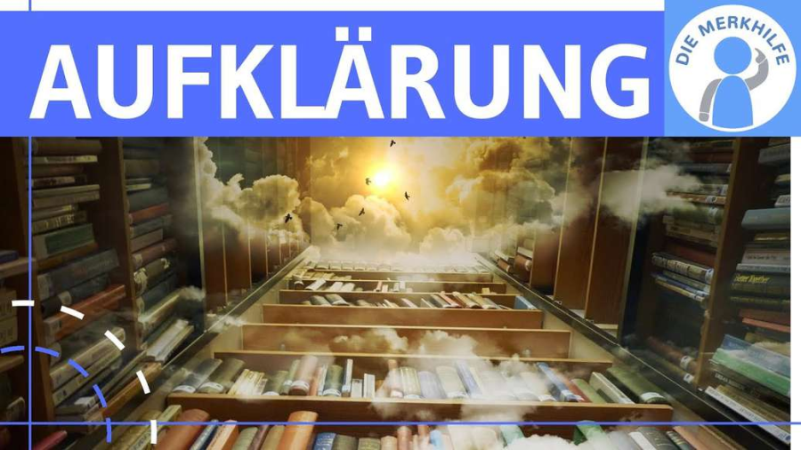 Cover: Aufklärung - Literaturepoche einfach erklärt - Merkmale, Literatur, Geschichte, Vertreter